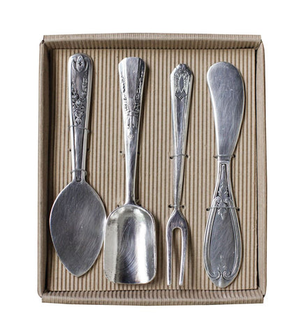 Four Piece Serving Set ~ Cheese, Pie, Scoop and Knife ~ Free Shipping