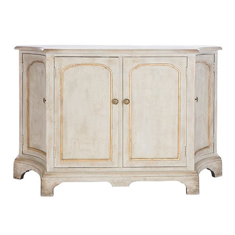 POLSON CABINET, GOLD ~ Free Shipping