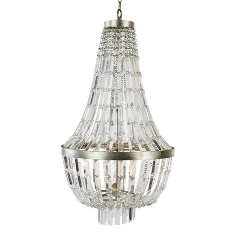 GLENDIVE CRYSTAL, SMALL CHANDELIER ~ Free Shipping
