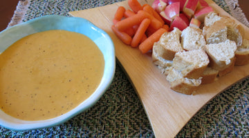 Uncle Dave's Twisted Beer Cheese Fondue [Recipe]