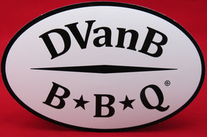 DVanB BBQ® Bumper Sticker