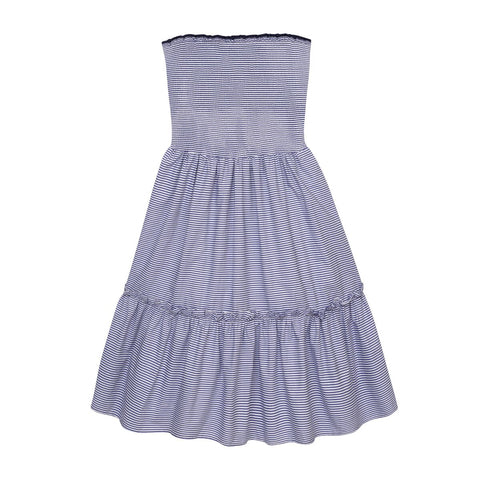 THE SMOCKED FLOUNCE DRESS