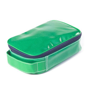 Wellie Toiletry/Cosmetic Case - Green