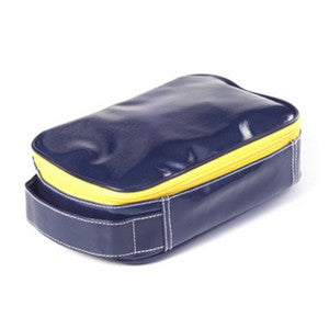 Wellie Toiletry/Cosmetic Case - Navy