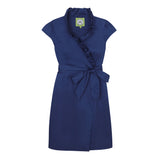 SCOTLAND DRESS - SUMMER NAVY