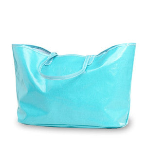 Wellie Market Tote in Mint