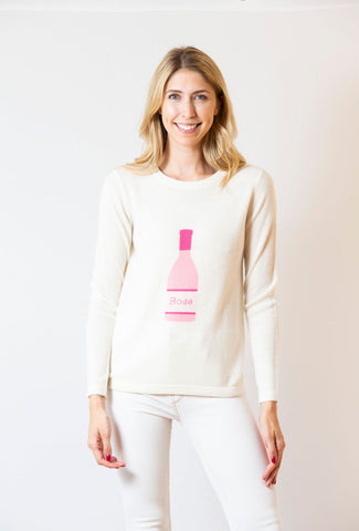 Rose Sweater | ivory