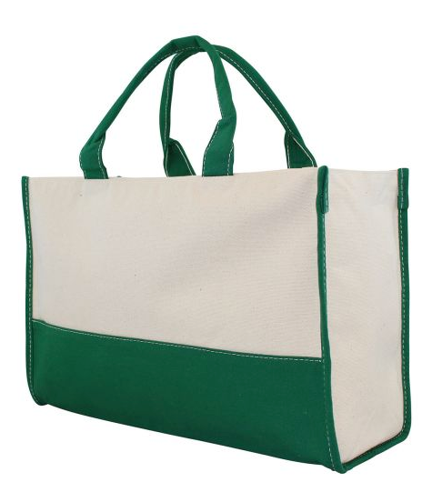 CB Station Vivera Tote in Emerald