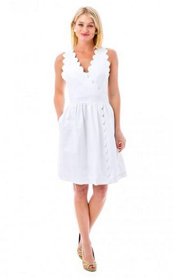 Harbour Island Dress - White