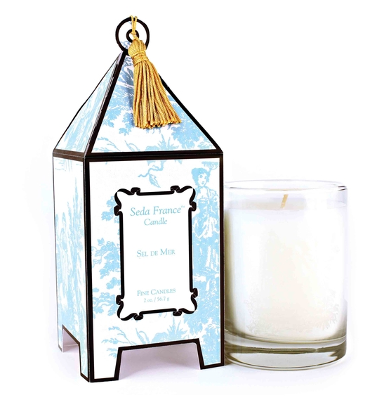 Sel de Mer Classic Toile Mini Pagoda Box Candle