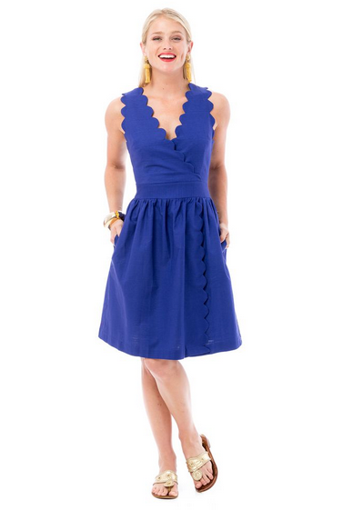 Harbour Dress - Summer Navy