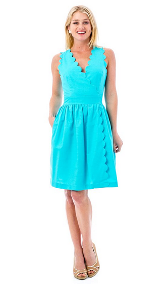 Harbour Island Dress - Turquoise