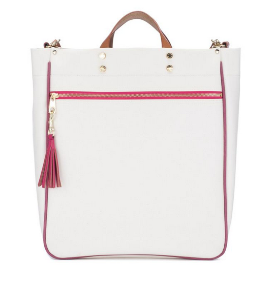 Parker Canvas Tote - Pink