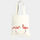 Flamingos Canvas Bag