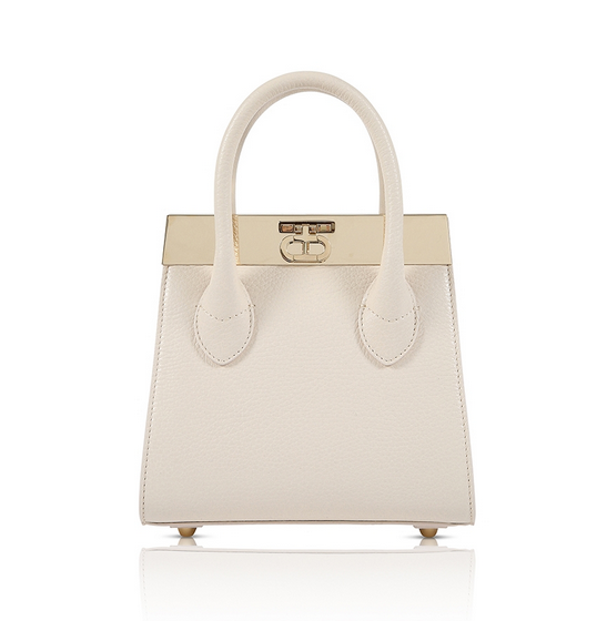 Roma Mini Tote Bag - Ivory