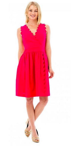 The Harbour Island Dress - Hot Pink