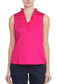 ROSE TOP - HOT PINK