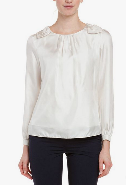 BOUVIER TOP - WHISPER WHITE
