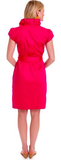 SCOTLAND DRESS - HOT PINK