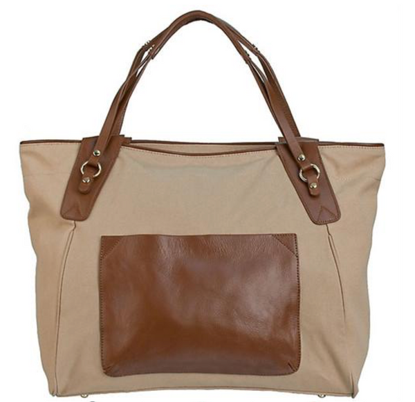 Sunday Tote- Brown/Neutral