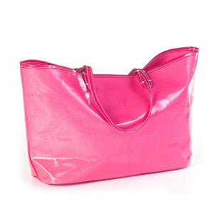 Wellie Market Tote in Fuschia