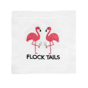 Flock Tails Flamingo - Cocktail Napkins