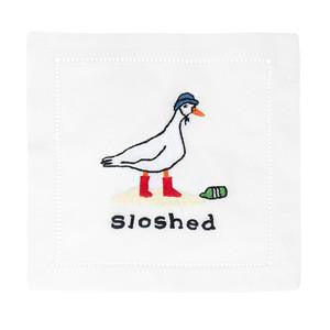 Sloshed Cocktail Napkins
