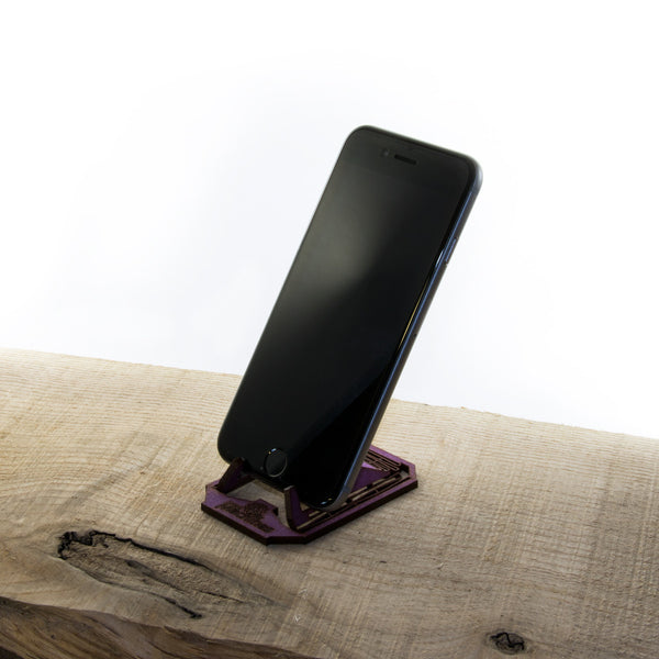 Living Hinge Phone Stand - Small Machines UK - 1