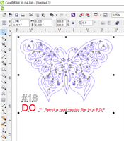 Do - Submit a .PDF with Editable Vectors