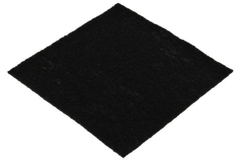 black felt for custom laser cutting
