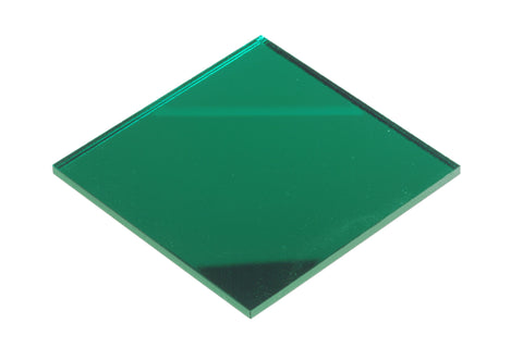 "Mirror Green Acrylic</h1><p>thickness ≈ 1/8""<p>includes laser cutting, material, & US shipping</p>"