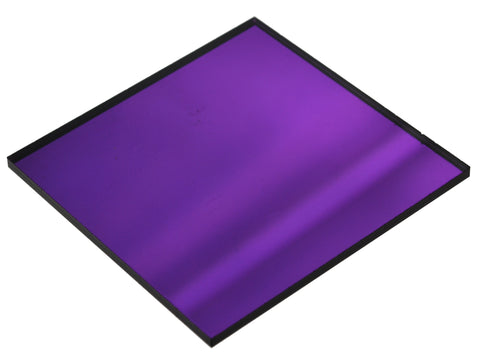 "Mirror Purple Acrylic</h1><p>thickness ≈ 1/8""<p>includes laser cutting, material, & US shipping</p>"