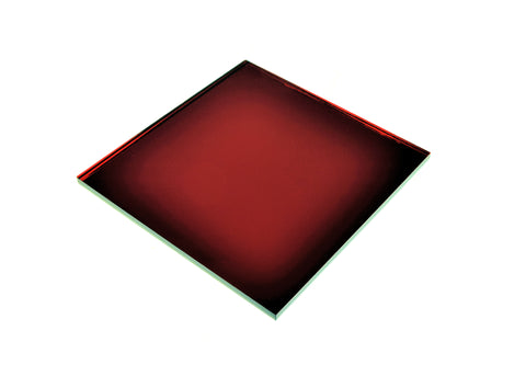 "Mirror Red Acrylic</h1><p>thickness ≈ 1/8""<p>includes laser cutting, material, & US shipping</p>"