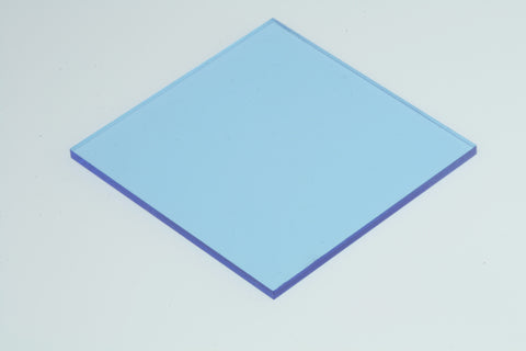 "Transparent Blue Acrylic</h1><p>thickness ≈ 1/8""<p>includes laser cutting, material, & US shipping</p>"