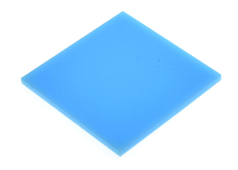 "Solid Baby Blue Acrylic </h1><p>thickness ≈ 1/8""<p>includes laser cutting, material, & US shipping</p>"