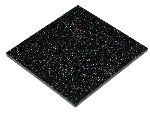 "Glitter Rainbow Acrylic</h1><p>thickness ≈ 1/8""<p>includes laser cutting, material, & US shipping</p>"