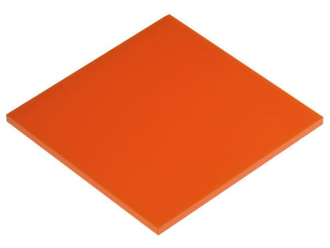 "Solid Neon Orange Acrylic</h1><p><thickness ≈ 1/8""<p>includes laser cutting, material, & US shipping</p>"