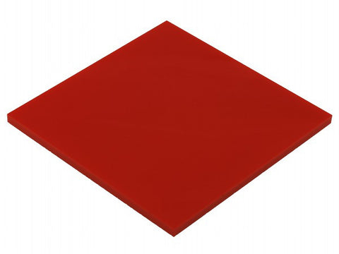 "Solid Red Acrylic</h1><p>thickness ≈ 1/8""<p>includes laser cutting, material, & US shipping</p>"