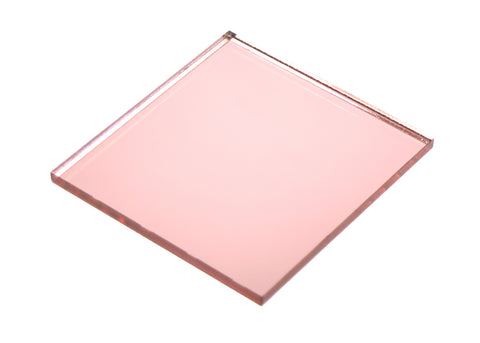 "Mirror Rose Gold Acrylic</h1><p>thickness ≈ 1/8""<p>includes laser cutting, material, & US shipping</p>"