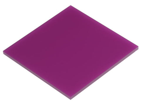 "Solid Purple Acrylic</h1><p>thickness ≈ 1/8""<p>includes laser cutting, material, & US shipping</p>"