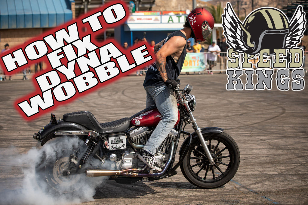 How to FIX the Dyna Death Wobble