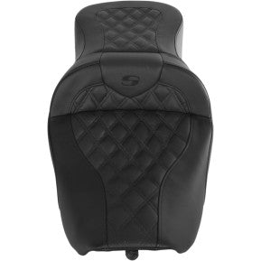 SADDLEMEN - ROADSOFA SEAT - LATTICE STITCH - '97-'07 TOURING