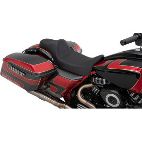 DRAG- EXTENDED REACH PREDATOR III SEAT - SMOOTH - '08-'20 TOURING
