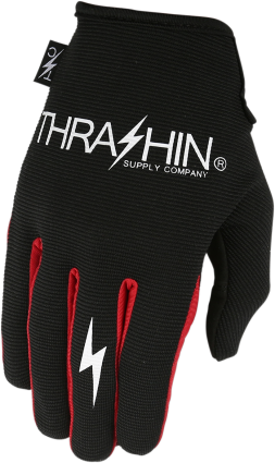 Thrashin Supply Stealth Glove Black/Red