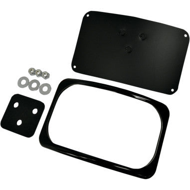 Radius License Plate Mount with Frame