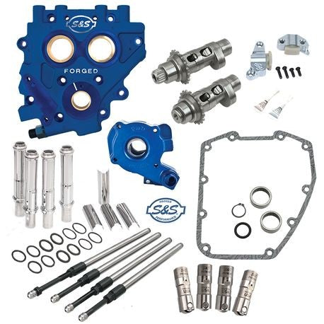S&S Cycle Easy Start Chain Drive Cam Chest Kit 06-17 Dyna