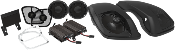 Wild Boar Front Speaker and Lid Kits with 600-Watt Amp