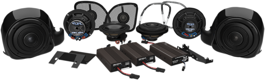 Wild Boar 900-Watt Amp / 6-Speaker Kit