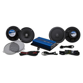 HOGTUNES GEN 4 200-WATT AMP/FOUR SPEAKER KIT