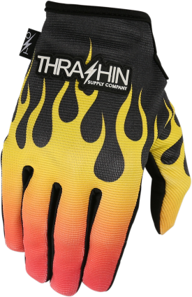 Thrashin Supply Stealth Glove Flame